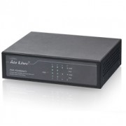 Switch 8 Puertos 10/100MbPS 4 Ptos POE 60W No Administrable