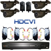 Kit de Seguridad 8Ch Camara 1080P HD-CVI