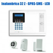 Kit Alarma Inalambrica GPRS IP Iconnect 2Way