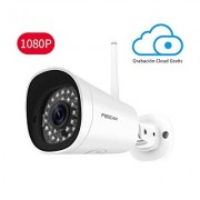 Camara IP Exterior 1080p Full HD WiFi Metalica