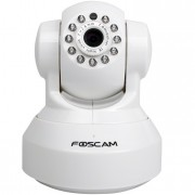 Camara IP WIFI con movimiento 1MP HD Slot SD. Blanca.