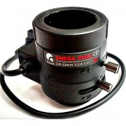 Lente Varifocal 2.8 a 12mm - Autoiris -  3Megapixel - Correccion IR
