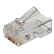 Conector RJ45 Categoria 6 para crimper en cable UTP Cat 6